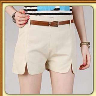 Empire Waist Short Pant