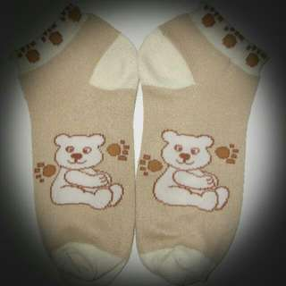 Cute lil bear socks