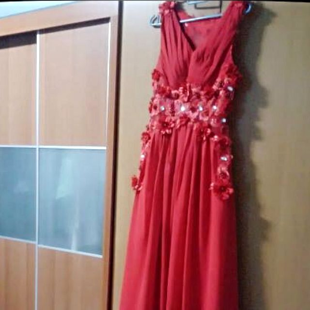 Red Wedding Gown★