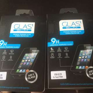 Tempered Glass Screenprotector For Note 3