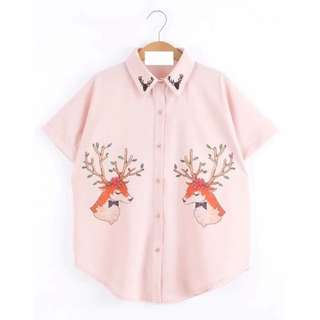 Deer Top *Hottest trend this Spring*