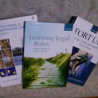 Learning Legal Rules Law Textbook