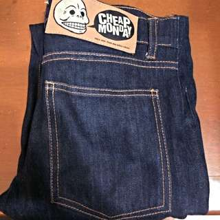 Authentic Cheap Monday Jeans (raw)