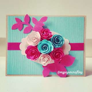 Handmade Happy Mother day Card