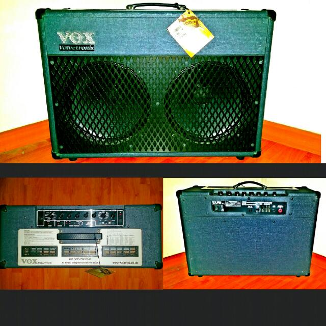 Voxad50vt-xl Aplifier  Condition 9/10 Huge Ass Amp. Price Negotiable.
