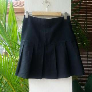 (Reserved) Black Basic Skirt