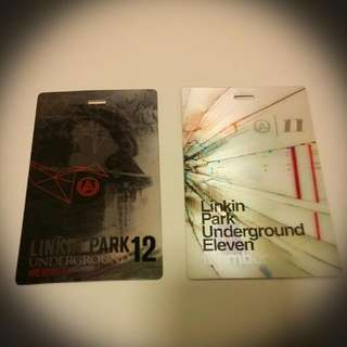 Linkin Park Shiny Reflective Member Tags