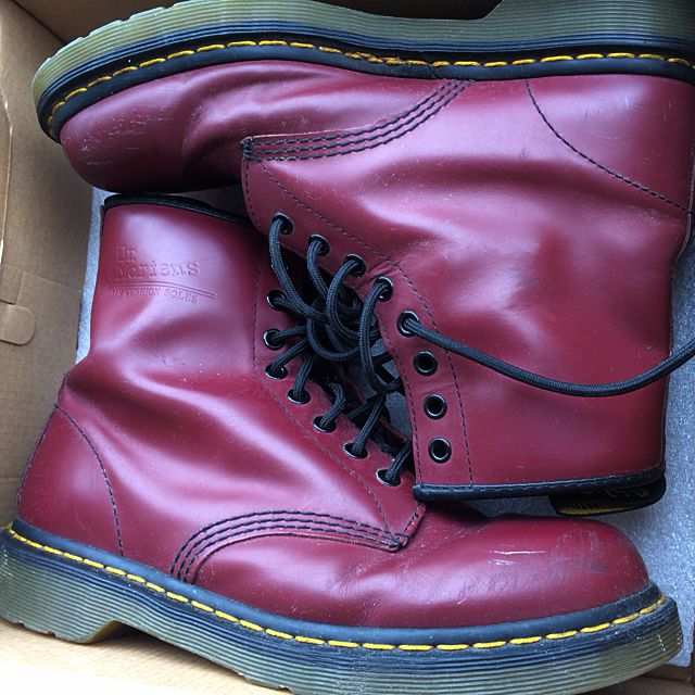 Authentic Red Dr Martens