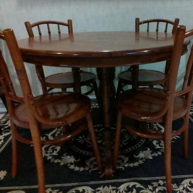 Really Cheap Furniture For Sale: Kopitiam Dining Table For Sale Very Cheap Still Good