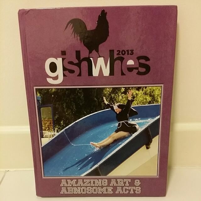 SIGNED Misha Collins' GISHWHES2013 Coffee Table Book