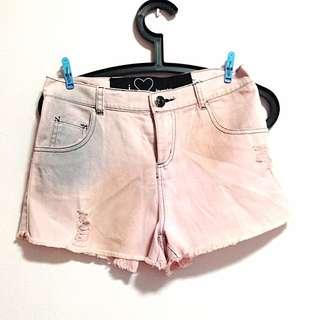 Romwe Shorts Pink