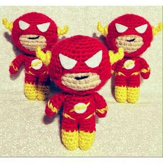 ✧DC Superhero: FLASH✧ amigurumi