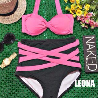 high waist swimsuit (LEONA)