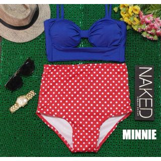 high Waist swimsuit (Minnie)