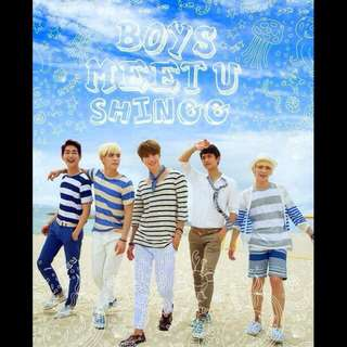 Limited Edition [ out of print ] Shinee - Boys Meet u