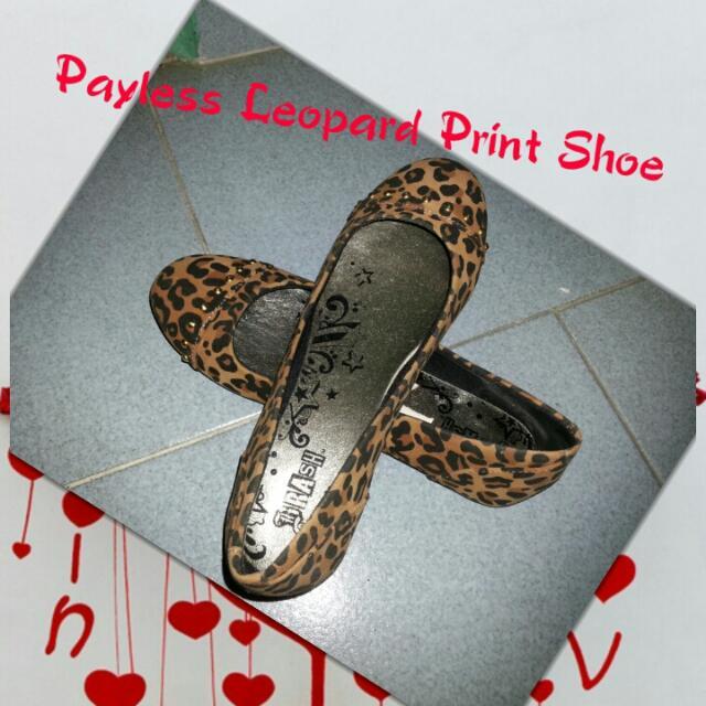 Payless Leopard Print Shoes, Women's