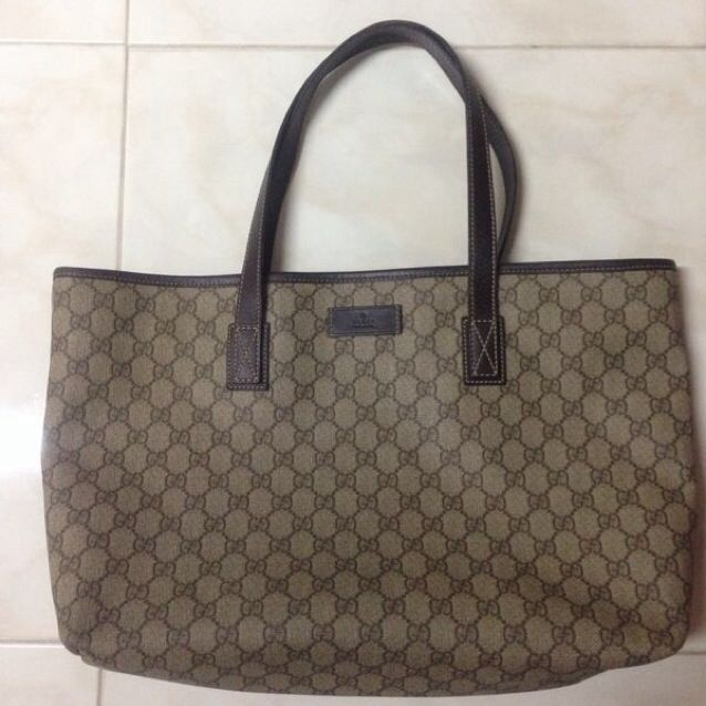 a8f03da39720 Gucci Neverfull Tote Bag, Luxury on Carousell