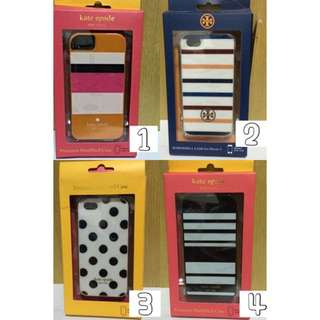 Kate Spade And Tory Burch Iph5/5s Covers