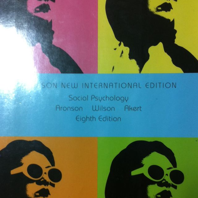 Reserved social psychology 8th edition by aronson wilson and akert photo photo photo fandeluxe Gallery