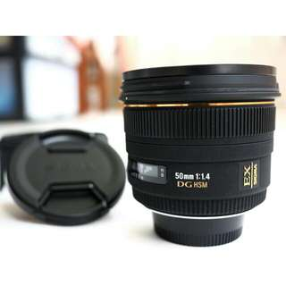 SIGMA 50mm f1.4 (Nikon mount)