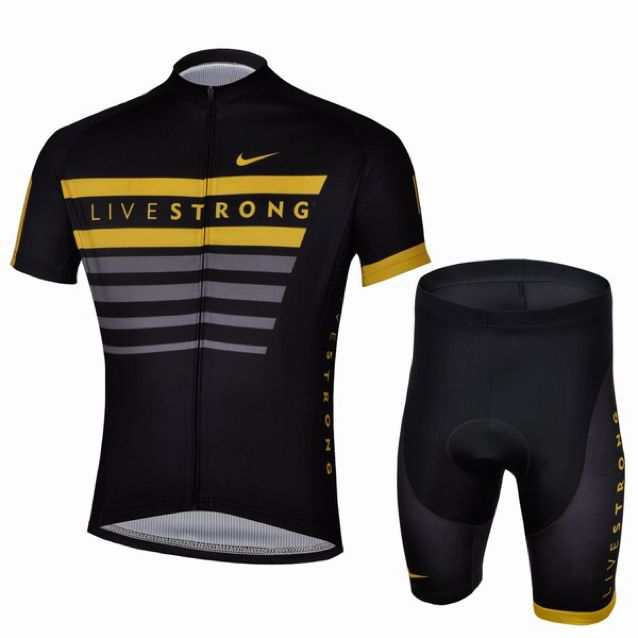 BN Nike Livestrong Cycling Jersey And Tights 3bf41603c
