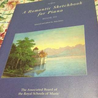 A Romantic Sketchbook For Piano (book 3) ABRSM