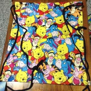Winnie The Pooh Drawstring Bag 🐻