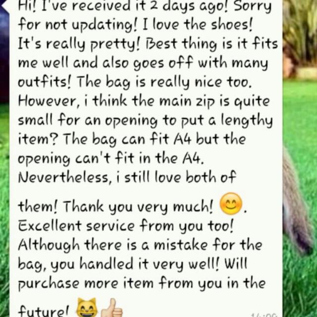 Customer's Review! ✔