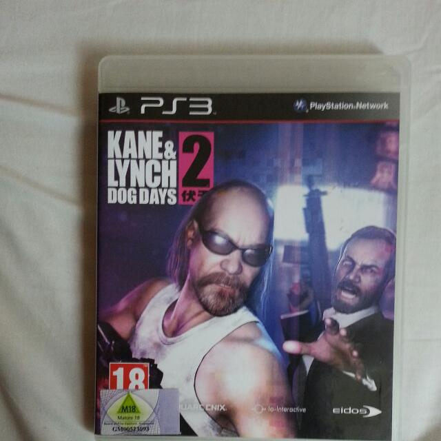 KANE & LYNCH DOG DAYS 2 FOR PS3