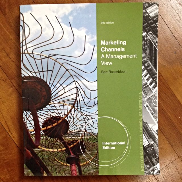marketing channels 8th edition