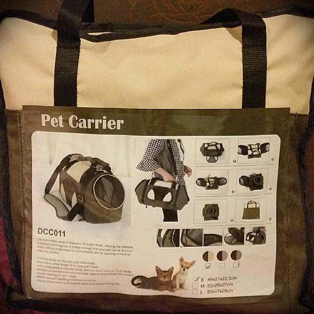 Dog Or Cat CARRIER / BAG