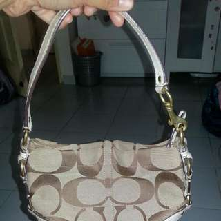 aunthetic pre-loved coach bag..bought at $250