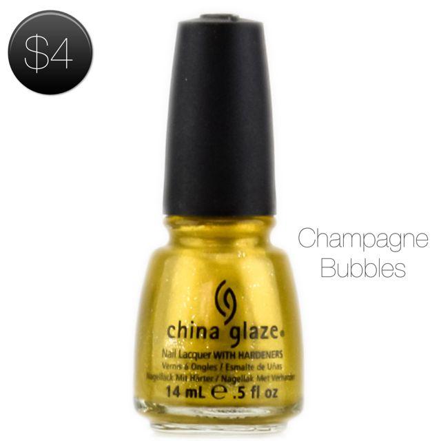 China Glaze Nail Lacquer Champagne Bubbles