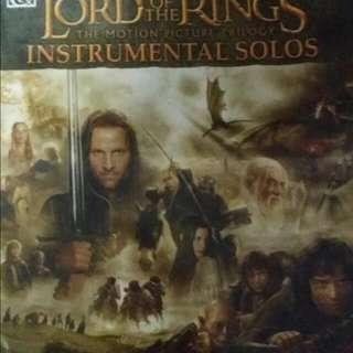 Lord Of The Ring Violin Book