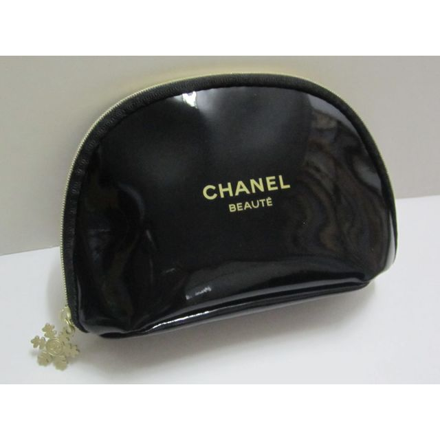 chanel beaute snowflake cosmetic bag makeup pouch