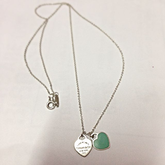 d8b195345 Return To Tiffany Double Heart Tag Pendant, Luxury on Carousell