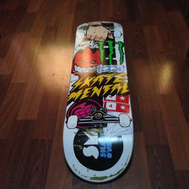 Skatemental From Ccs Skateboard Deck, Sports on Carousell