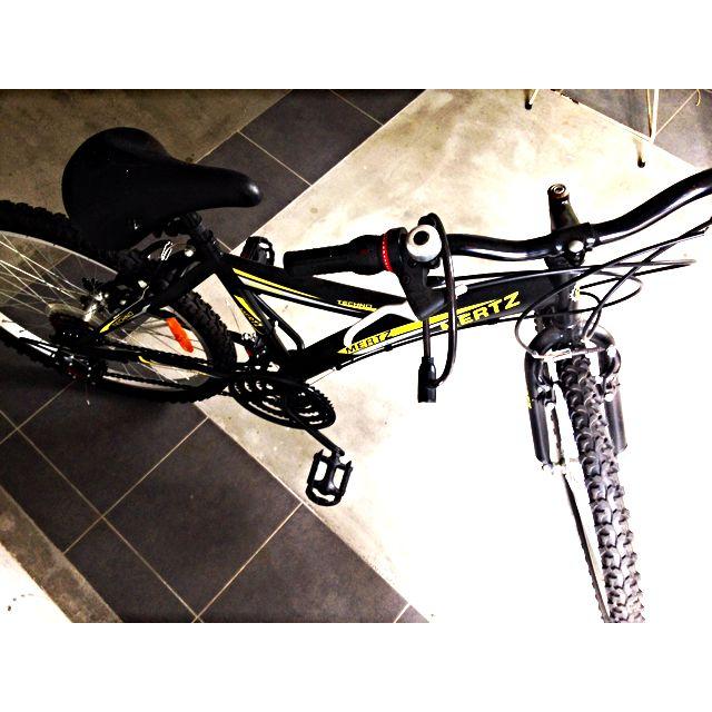 Bicycle with Bike Lock