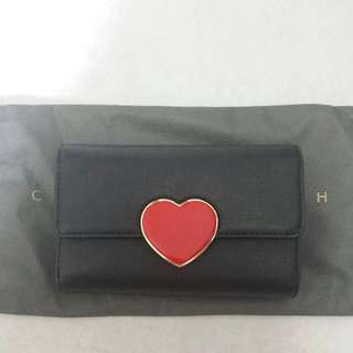 <PENDING> Charles & Keith Heart Wallet