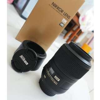 Nikon DX Micro 85mm f3.5G ED VR