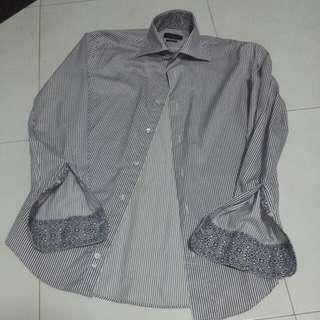 Authentic Zara Stripe Flora Shirt