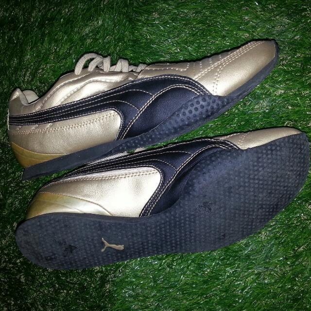 Osain Bolt PUMA Shoe (Gold)