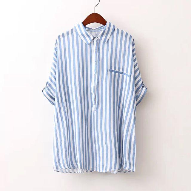 Stripe-thru Shirt