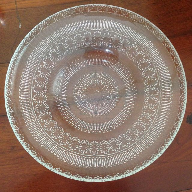 SOGO Glass Plate, Furniture on Carousell