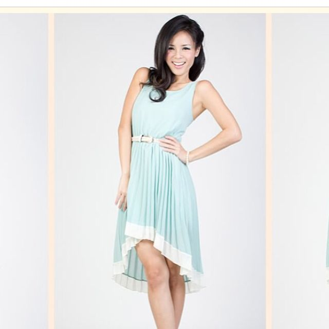BN Intoxiquette Mint Or Pink Dress