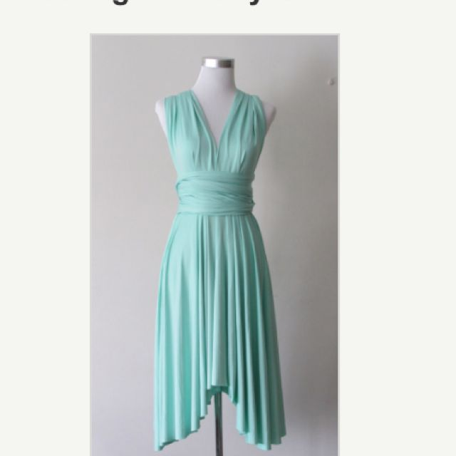 Multiway Bridesmaid Dress In Mint