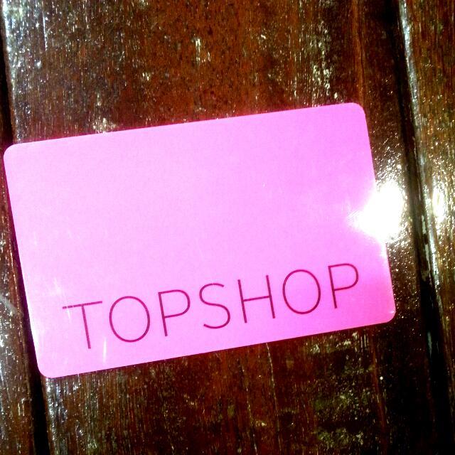 $50 Topshop Giftcard