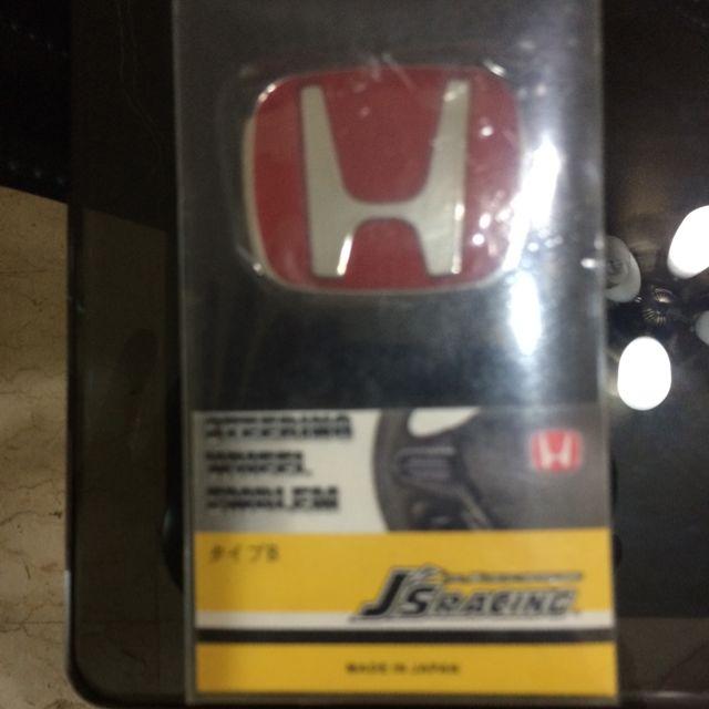 Original Honda Type R Steering Wheel Emblem