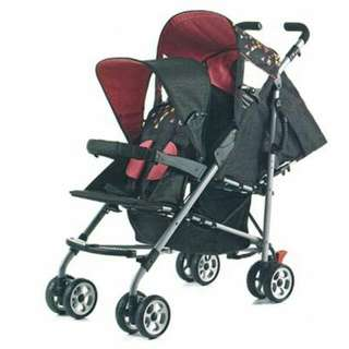 Twin Stroller Condition 9/10