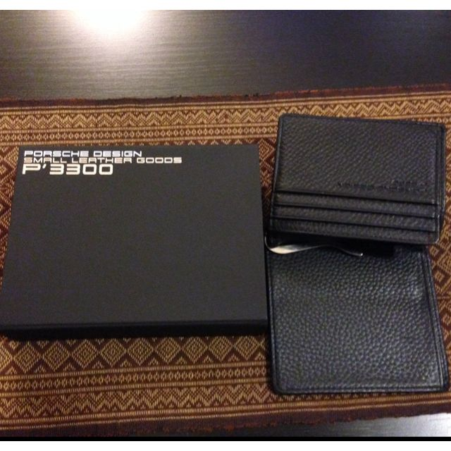 Porsche Design Cards And Money Clip Wallet, Luxury on Carousell